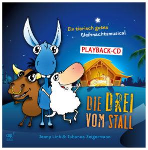 """Produkte: Cover der Playback-CD """"Die Drei vom Stall"""""""
