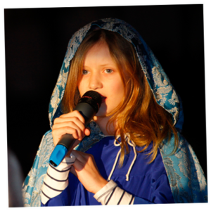 Sprecher und Sänger: Emily