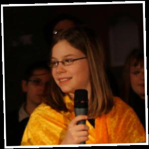Sprecher und Sänger: Fabienne