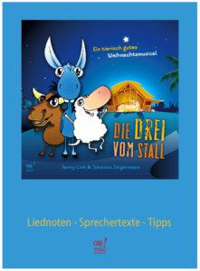 """Produkte: Bild vom Regie und Begleitheft """"Die Drei vom Stall"""""""