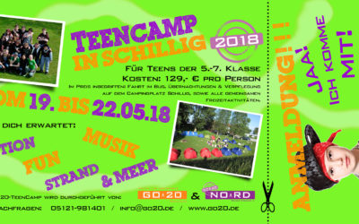 TEENCAMP in Schillig 2018
