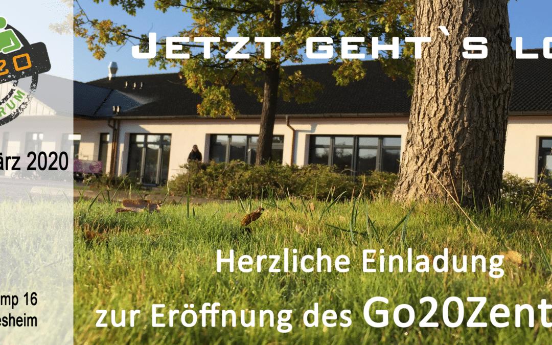 Eröffnung des Go20Zentrum