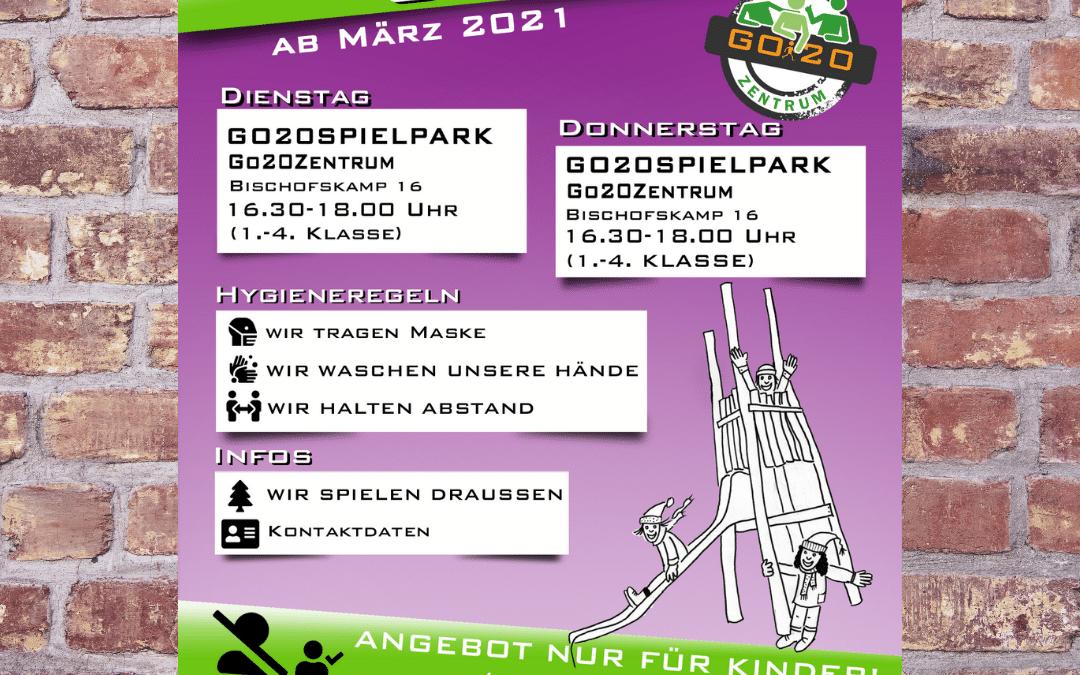 Go20Spielpark – Herzlich Willkommen
