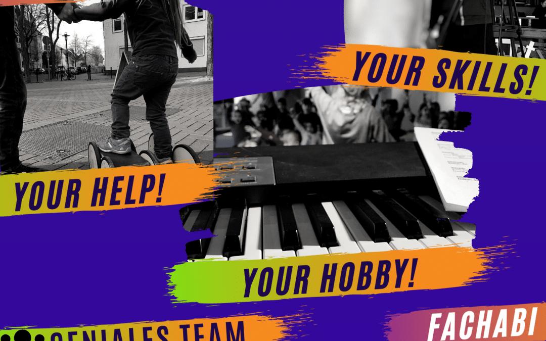 📣 Deine Chance auf ein super geniales Freiwilligenjahr!